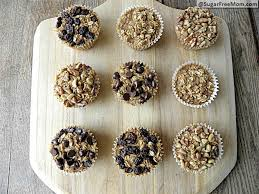 personal sized baked oatmeal with individual toppings gluten free diabetic friendly