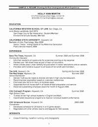 Harvard Resume Sample Resume Samples for Photographers New Law School Resume Sample 47