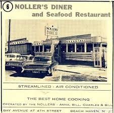 Lbi Tide Chart July 2018 1963 Ad For Nollers Diner In Beach Haven Lbi Views