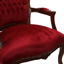 Red Bedroom Chairs Mahogany Bedroom Chairs French Louis Style Salon Luxury Pure Shop