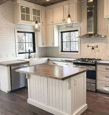 Awesome modern farmhouse kitchen cabinets ideas Cabinet Hardware 57 Awesome Modern Farmhouse Kitchen Cabinets Ideas 47 Gentilefordacom 57 Awesome Modern Farmhouse Kitchen Cabinets Ideas 47