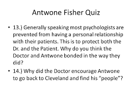 antwone fisher quiz antwone fisher was born in a state  6 antwone