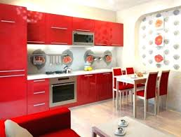 unusual red kitchen accessories ideas photo ideas