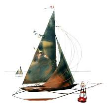 metal ship wall art sail boat wall decor sailboat wall art ideas design feature fixed metal