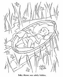 Small Picture Baby Moses Coloring Sheet Coloring Coloring Pages
