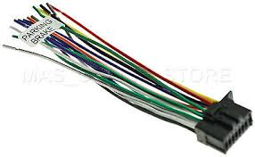 pioneer avh p4100dvd wiring harness pioneer image 16pin wire harness for pioneer avh 271bt avh271bt pay today ships on pioneer avh p4100dvd wiring