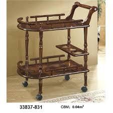 wood tea cart wooden trolley vintage italian marquetry inlay wine