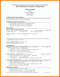 6 Under Graduate Resume Mla Cover Page