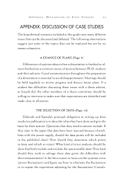 appendix discussion of case studies on being a scientist a page 51