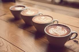 coffee cups with coffee. Beautiful Coffee Inside Coffee Cups With F