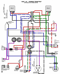 outboard motor wiring diagram mastertech marine evinrude johnson outboard wiring diagrams trim tilt 1987 up relay 2 wire motor