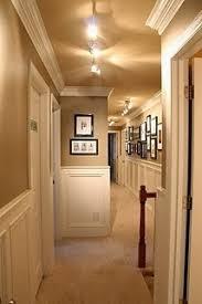 long track lighting. Hallway Track Lighting And Molding Long T