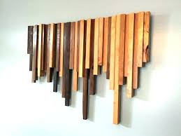 wood wall hangings modern art reclaimed decor wooden creative ideas inside the hanging mo
