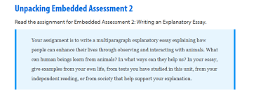 ms colacicco s language arts blog ac on level in class today students worked in partners to unpack this assessment using an unpacking graphic organizer and page 164 scoring guide to assist them