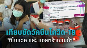 เทียบชัดวัคซีนโควิด-19 2 ยี่ห้อ ซิโนแวค และ แอสตร้าเซเนก้า : PPTVHD36