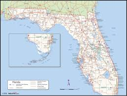 florida county wall map  mapscom