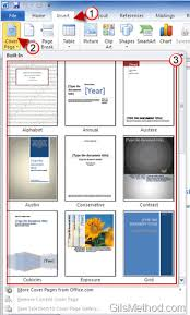 Microsoft Office Word Cover Page Templates Impress Your Boss With Amazing Cover Pages In Word 2010