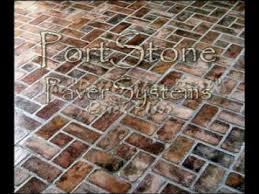 brick veneer flooring. PortStone Brick Flooring Video Veneer 0
