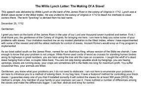 william lynch letter willie lynch letter elegant the willie lynch letter the making a