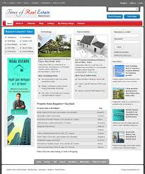 Real estate publisher magazine templates