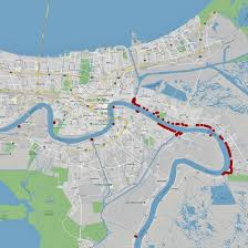 Army Corps Of Engineers Lower Mississippi River Navigation Charts These New Orleans Levees Could Be Overtopped By Mississippi