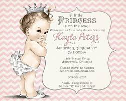 princess baby shower invitations templates ctsfashion com girl baby shower invitation chevron princess for girl by jjmcbean