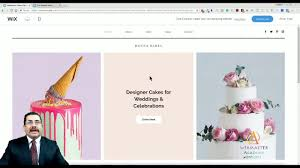 Design Your Own Cake Template Celebration Cake Template From Wix Web Design Tutorial