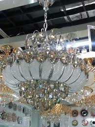 silver crystal chandeliers gold cognac colored crystal pieces such as in need of replacement range the lamp needs to be replaced with the