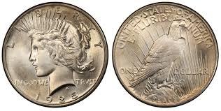 1925 1 Regular Strike Peace Dollar Pcgs Coinfacts