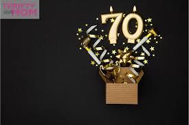 fun 70th birthday ideas for mom