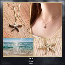 14k gold cubic zirconia starfish