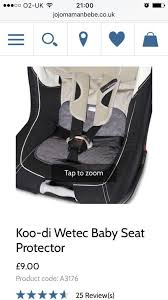 car seat buggy seat protector perfect for potty training