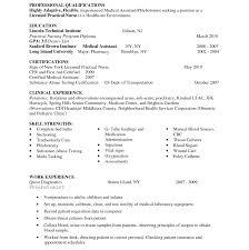 Cover Letter Phlebotomy Intake Nurse Phlebotomist Resume Examples