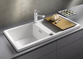 kitchen sink blanco drop in sink deep stainless steel kitchen