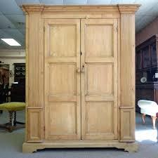 large wardrobe closet wooden wood clothing armoire