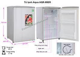 Tủ lạnh mini AQUA 90 Lít AQR-95ER - Chính hãng giá rẻ nhất T7/2021