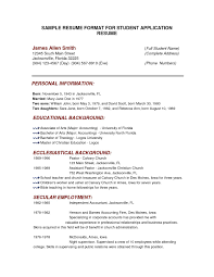 How To Create A Resume For Job Application Best Of Job Application