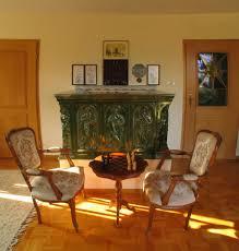 Kachelofen Im Wohnzimmer