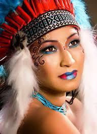 native american princess makeup