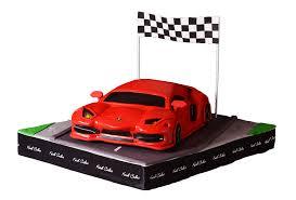 King Cake Car Birthday Cake Red Ribbon Cake 1306884 Transprent