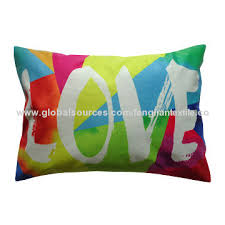 printed pillow cases. China Cotton Canvas/Polyester Short Velvet Digital Printed Pillow Cases