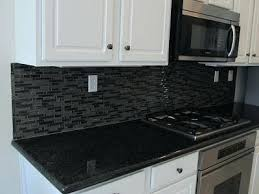 tile backsplash white cabinets black countertops kitchen archives work diary glass