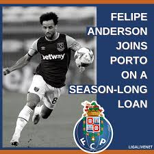 West Ham's Felipe Anderson has joined Porto - LigaLIVE