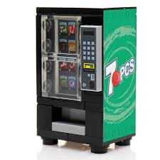 Soda Vending Machine For Sale Philippines Mesmerizing 48 Pieces Custom LEGO Soda Vending Machine Build Better Bricks