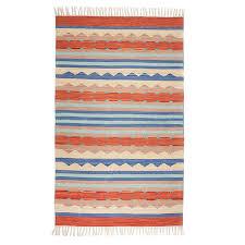 home fair trade brands serrv agra kilim rug