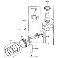 kawasaki engine parts model fj180vbs04 sears partsdirect piston cranks