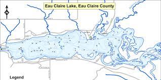 Fish Eau Claire Lake Eau Claire County Wisconsin