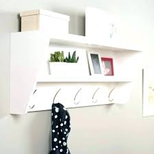 shelf with hooks shelf with hooks wall shelf hooks white tiered shelf hooks for entryway wooden wall with furniture shelf hooks