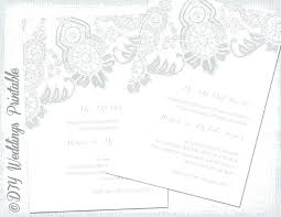 A5 Invitation Template Cards And Pockets Free Wedding Templates