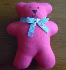 Teddy Bear Sewing Pattern Classy Fleece Teddy Bear Sewing Pattern